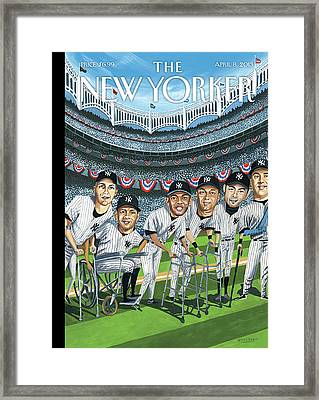 New Yorker April 8th, 2013 Framed Print