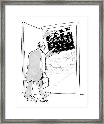 New Yorker November 28th, 2005 Framed Print