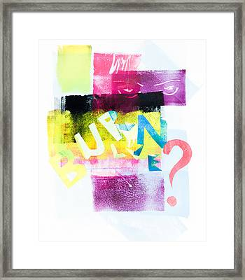 Untitled Number Twenty Eight Framed Print