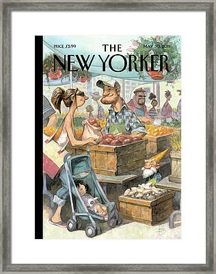New Yorker May 30th, 2011 Framed Print by Peter de Seve