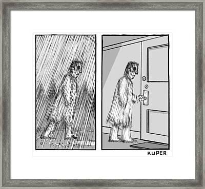 New Yorker October 10th, 2016 Framed Print