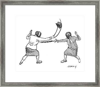 New Yorker June 19th, 2006 Framed Print