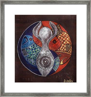 Untitled Framed Print by Sabira Manek