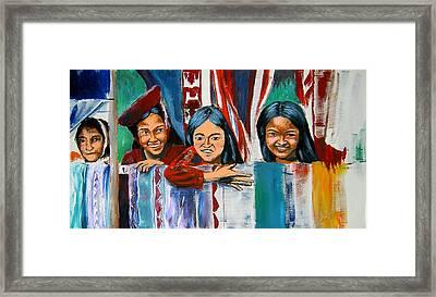 Untitled Framed Print by Sarolta Csernak