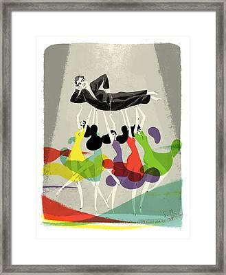 New Yorker November 25th, 2013 Framed Print by Simone Massoni