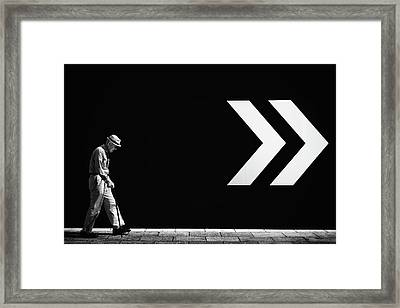 Untitled Framed Print by Tatsuo Suzuki
