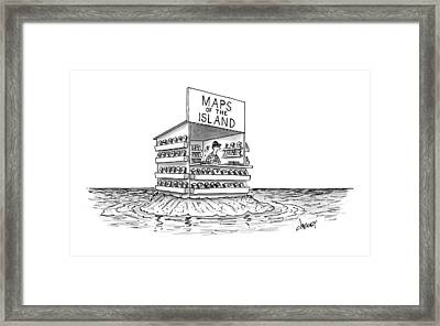 New Yorker November 7th, 2016 Framed Print by Tom Cheney