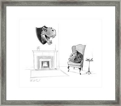 New Yorker February 13th, 2017 Framed Print
