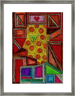 Untold Love Framed Print by Maricar Edano Casaclang