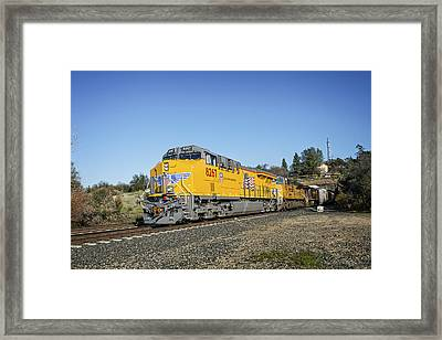 Up 8267 Framed Print by Jim Thompson