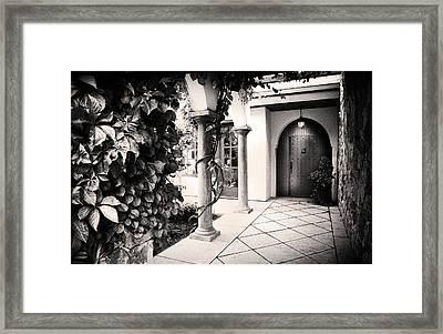 Up At The Villa Framed Print