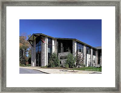 Upj Blackington Hall Framed Print