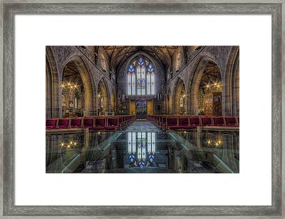 Upon Reflection Framed Print by Ian Mitchell