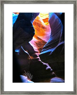 Upper Antelope Canyon Framed Print