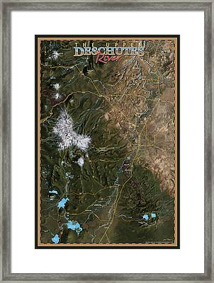 Upper Deschutes River Framed Print by Pete Chadwell