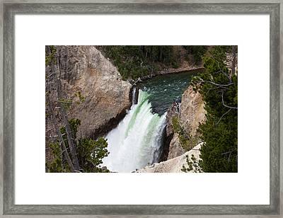 Upper Falls Framed Print