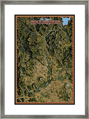 Upper Rogue River Framed Print