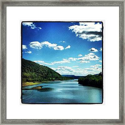 Upstate Ny Framed Print by Mike Maher