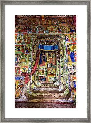Ura Kidane Meret Monastery, Lake Tana Framed Print