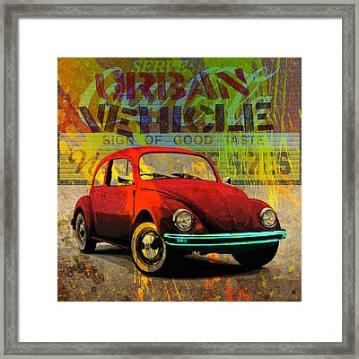 Urban Vehicle Framed Print by Gary Grayson