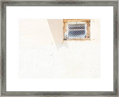 Urban Window 2 Framed Print by Lenore Senior