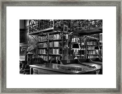 Uris Library Cornell University Framed Print