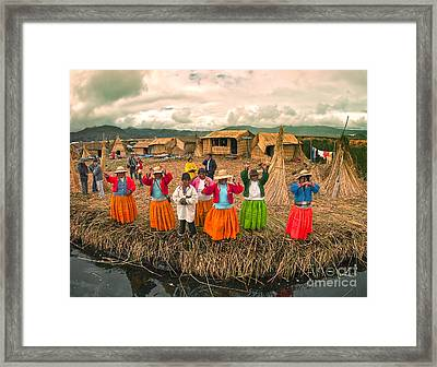 Uro Women Framed Print