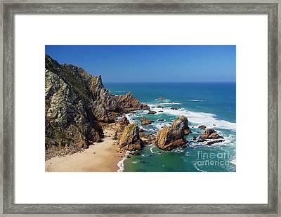 Ursa Beach Framed Print by Carlos Caetano