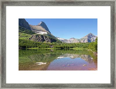 Us, Mt, Glacier National Park Framed Print