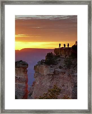 Usa, Arizona, Grand Canyon National Framed Print