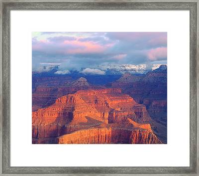 Usa, Arizona, Grand Canyon National Framed Print by Jaynes Gallery