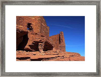 Usa, Arizona, Wupatki Framed Print by Kymri Wilt