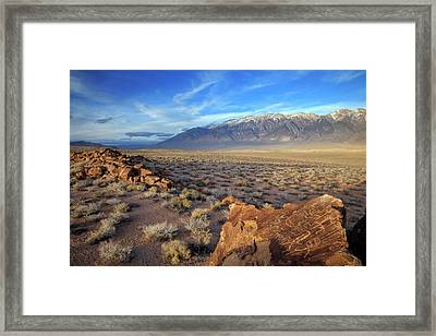 Usa, California, Bishop Framed Print by Jaynes Gallery