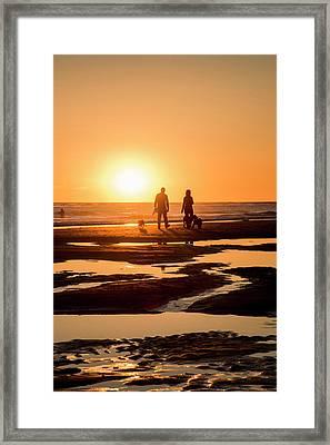 Usa California, Carpinteria, Central Framed Print by Alison Jones