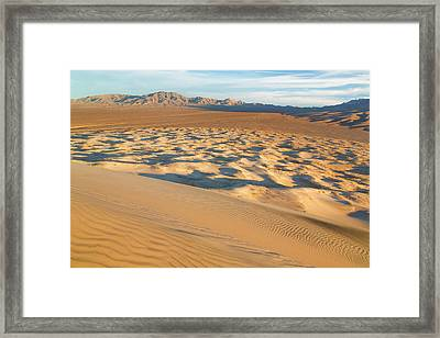 Usa, California, Mohave National Framed Print by Jaynes Gallery