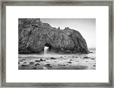 Usa, California, Pfeiffer Beach Framed Print by John Ford