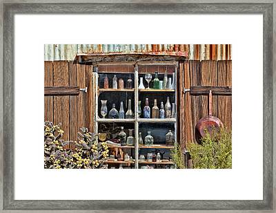 Usa, California, Randsburg Framed Print by Jaynes Gallery