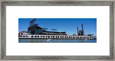 Usa, California, San Francisco, Sbc Framed Print by Panoramic Images