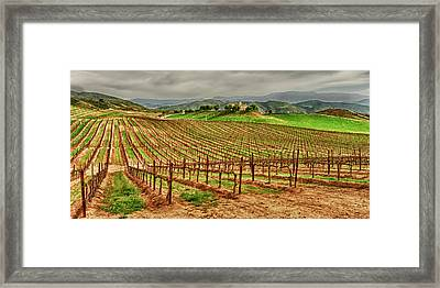 Usa, California, Temecula Framed Print by Richard Duval