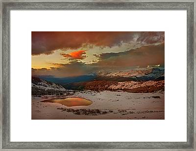 Usa, Colorado, Cottonwood Pass Framed Print by Jaynes Gallery