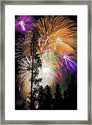Usa, Colorado, Frisco Framed Print