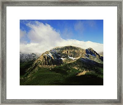 Usa, Colorado, Rocky Mountains National Framed Print