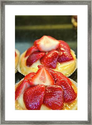 Usa, Florida Croissant Gourmet, Winter Framed Print by Michael Defreitas