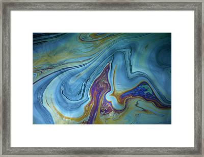 Usa, Hawaii, Oahu, Honolulu, Pearl Framed Print by David Wall