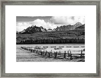 Usa, Idaho, Sawtooth National Framed Print