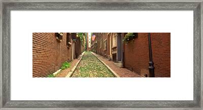 Usa, Massachusetts, Boston, Beacon Hill Framed Print