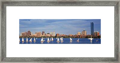 Usa, Massachusetts, Boston, Charles Framed Print by Panoramic Images