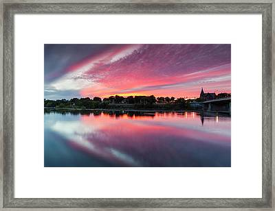 Usa, Massachusetts, Lowell, Lowell Framed Print