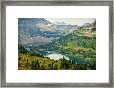 Usa, Montana, Glacier National Park Framed Print by Rona Schwarz