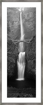Usa, Oregon, Columbia River George Framed Print by Walter Bibikow